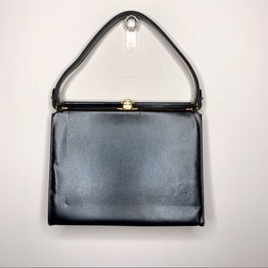 Vintage Bags - VTG Triangle NY Midcentury Modern Box Purse